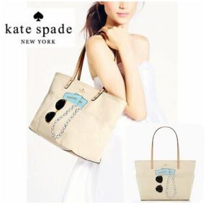 Kate Spade Wedding Belles Passport Pearl Tote Bag